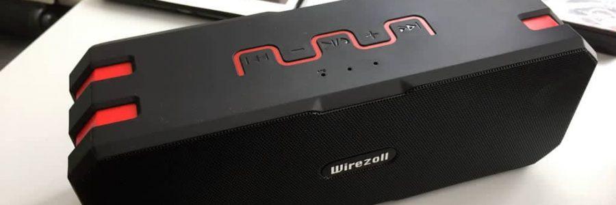 Wirezoll-Bluetooth-Lautsprecher Test